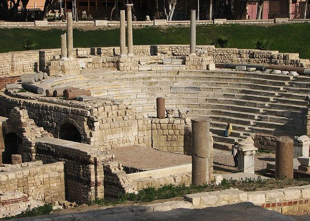 Столица Древнего Египта– Александрия