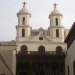 Подвешанная православная церковь в Египте