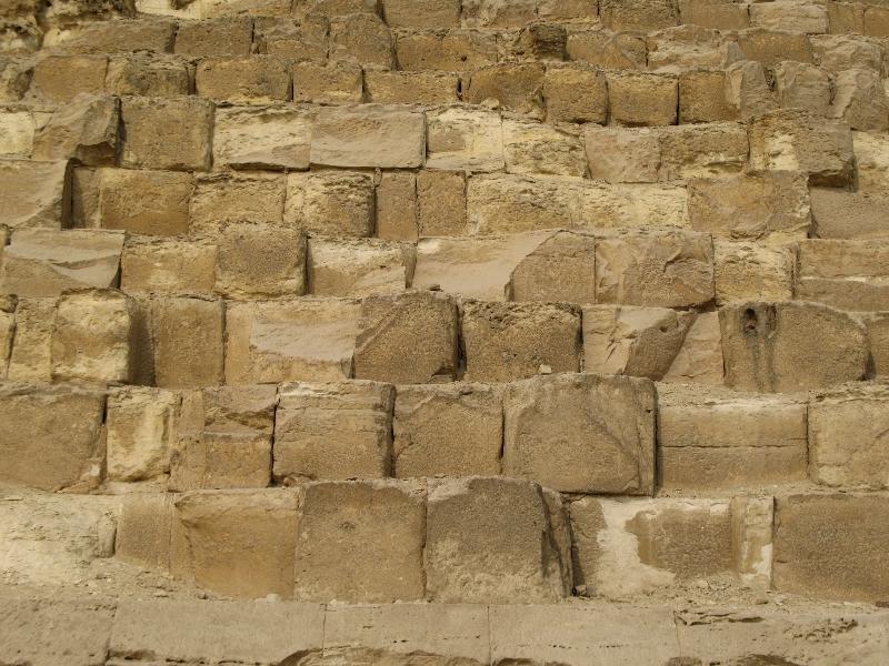 Из чего сделаны Египетские пирамиды